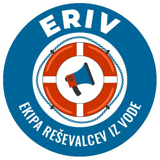 eriv ekipa reševalcev iz vode logo